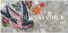 N° 56 - BLOC SOUVENIR NEUF - Meilleurs Voeux Hirondelle coeur en argent // 2010