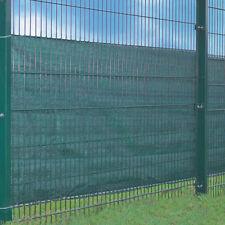 Zaunsichtschutz 500x100cm grün 24mKordel Sichtschutz Balkonsichtschutz