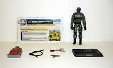 GI JOE BARBECUE 30th Anniversary Action Figure COMPLETE w/FILE CARD C9+ v6 2011