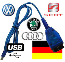 OBD OBD1 OBD2 EOBD KKL Interface VAG VW Audi Seat Skoda USB Deutsche Version