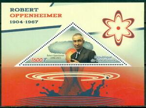 2016 ROBERT OPPENHEIMER ATOM BOMB SCIENCE SOUV SHEET