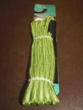 PET TRENDS - 6' ROPE DOG LEASH - UP TO 65 LBS..  COLOR - GREEN  (RM-2) FREE SHIP