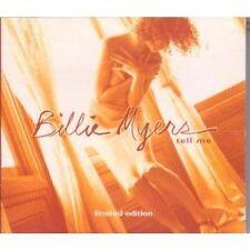 BILLIE MYERS TELL ME UK 3 TRACK LIMITED CD SINGLE DIGIPAK KISS THE RAIN FREE P&P