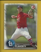 Jack Flaherty RC 2016 Bowman Prospects Rookie Card # BP89 St. Louis Cardinals