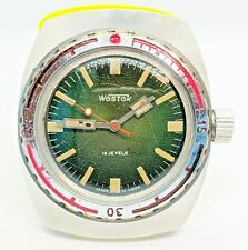 Vostok Amphibian Bochka USSR Watch caliber 2209 Rare Sovjet watch