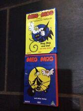 2 MEG & MOG DVDs Ex Cond