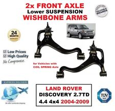 2x FRONT AXLE Lower WISHBONE ARMS for LAND ROVER DISCOVERY 2.7TD 4.4 2004-2009