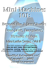 Beyond the 3-Jaw Chuck: Four-Jaws, Faceplates, Fixtures (Lathe Series Vol 2) DVD