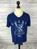 GUESS T-Shirt - Size XL - Blue - Great Condition
