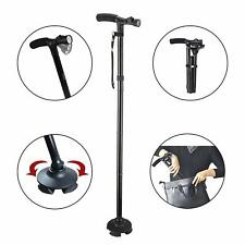 Mobility Walking Stick with LED light Folding & Height Adjustable