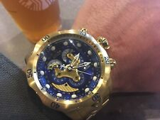 INVICTA #14465 (BRACELET) RESERVE MENS VENOM YELLOW GOLD SWISS MOVEMENT CHRONO