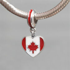 cb269a28b England Heart Flag Charms 100% 925 Sterling Silver Pandora | eBay