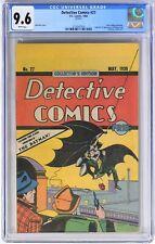 E114. DETECTIVE COMICS #27 by DC Comics CGC 9.6 NM+ (1984) OREO COOKIES GIVEAWAY