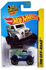 2014 Hot Wheels #122 HW Off-Road HW Daredevils Monster Dairy Delivery silver