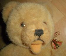 hermann plüsch teddy bär 24cm sitzend aus sammlung auflösung top nostalgie deko