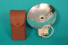 """Vintage/Retro1950's """"Duo-Lux"""" 'Petal' Flash Bulb Gun / case. German Made"""