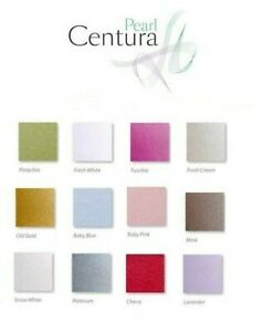 Centura Pearl Double Sided 12 colours Size A3, A4, A5, A6. (Cheapest Per Sheet)