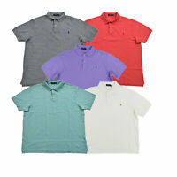 Polo Ralph Lauren Mens Big And Tall Polo Shirt Classic Fit Mesh Collared Top Prl