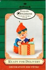 2001 Hallmark Keepsake Ornament: Ready for Delivery (Collector's Club)