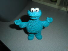 "Vintage Jim Henson Productions Cookie Monster Figure Applause 5"" tall"