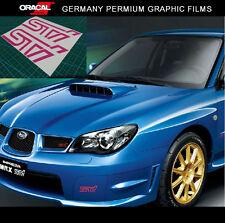 2 Pics STi fog light Bumper IMPREZA JDM WRX RS vinyl decal sticker
