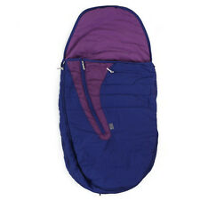 Mamas & Papas Joolz Purple Pushchair Footmuff Cosytoes Burgundy Lining Mesh Bag