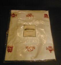 Judi Boisson Red Alphabet E 00004000 uropean Pillow Sham New 26 1/2 x 26 1/2 New One Pair