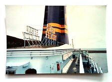 Vintage 90s Photo Vacation Stena Felicity Boat From Dublin To Holyfield Wales