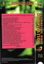PGD Alternative Video VHS 1-2/97 Soundgarden Cake Cardigans Black 47 Danzig +20