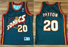 GARY PAYTON NBA #20 SEATTLE SONICS CHAMPION SHIRT JERSEY SIZE SMALL BASKETBALL