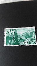 FRANCE 1947 OCCUPATION ALLEMAGNE BADE timbre 12 FORET NOIRE oblitéré VF STAMP
