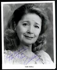 Edith Fellows original signé 20x25 # G 10172