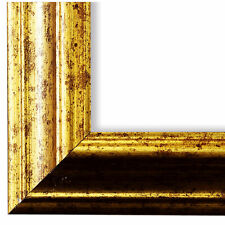 Bilderrahmen Gold Antik Vintage Retro Bari 4,4 - NEU alle Größen