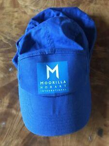 VINTAGE CAP SLAZENGER TENNIS BALLBOY LEGIONNAIRES CAP BLUE COTTON HAT
