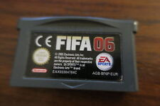 FIFA 06       ---   pour GAME BOY ADVANCE  // BE