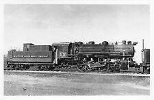 Alton and Southern Railroad Train Engine RPPC Postcard