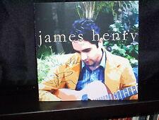 JAMES HENRY CALM CRAZY – RARE AUSTRALIAN CD NM SIGNED