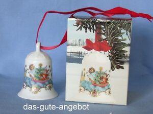 Hutschenreuther - Weihnachtsglocke 1982 - Glocke aus Porzellan - WIE NEU - OVP