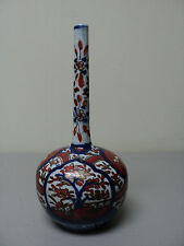 "ANTIQUE JAPANESE ARITA / IMARI 7"" BOTTLE VASE, MEIJI PERIOD (1868-1913)"