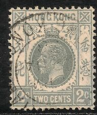Hong Kong #131 (SG #118c) VF Used - 1937 2c King George VI - SCV $8