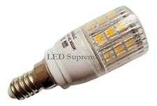E14 SES 24 SMD LED 380LM 3.8W White Bulb With Cover ~50W
