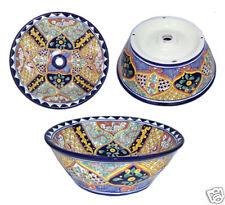 Vessel Talavera Mexican Bathroom Sink Ceramic  # 07