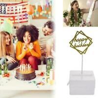 Surprise Happy Birthday Wedding Cake Topper Anniversary B8M3 Box Money O6B2