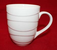Jamie Oliver Porcelain White Embossed Waves Coffee Tea Mug Cup 1401001 Thailand