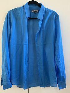 VILEBREQUIN  Men's Cotton Voile Shirt Medium  New Without Tags