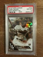 PSA 10 Gem Mint Corey Seager 2016 Topps Chrome Sepia Refractor #150 RC