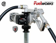 FUELWORKS Fuel Transfer Pump 12 Volt 15 GPM Diesel Gas Gasoline Kerosene Car