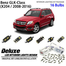 Deluxe LED Interior Light Kit Xenon White for 2008-2016 Benz GLK- Class (Set B)
