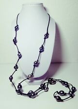 Splendide sautoir de 23 véritables perles de TAHITI