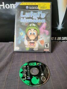 Luigi's Mansion (Nintendo GameCube, 2001) Complete Tested